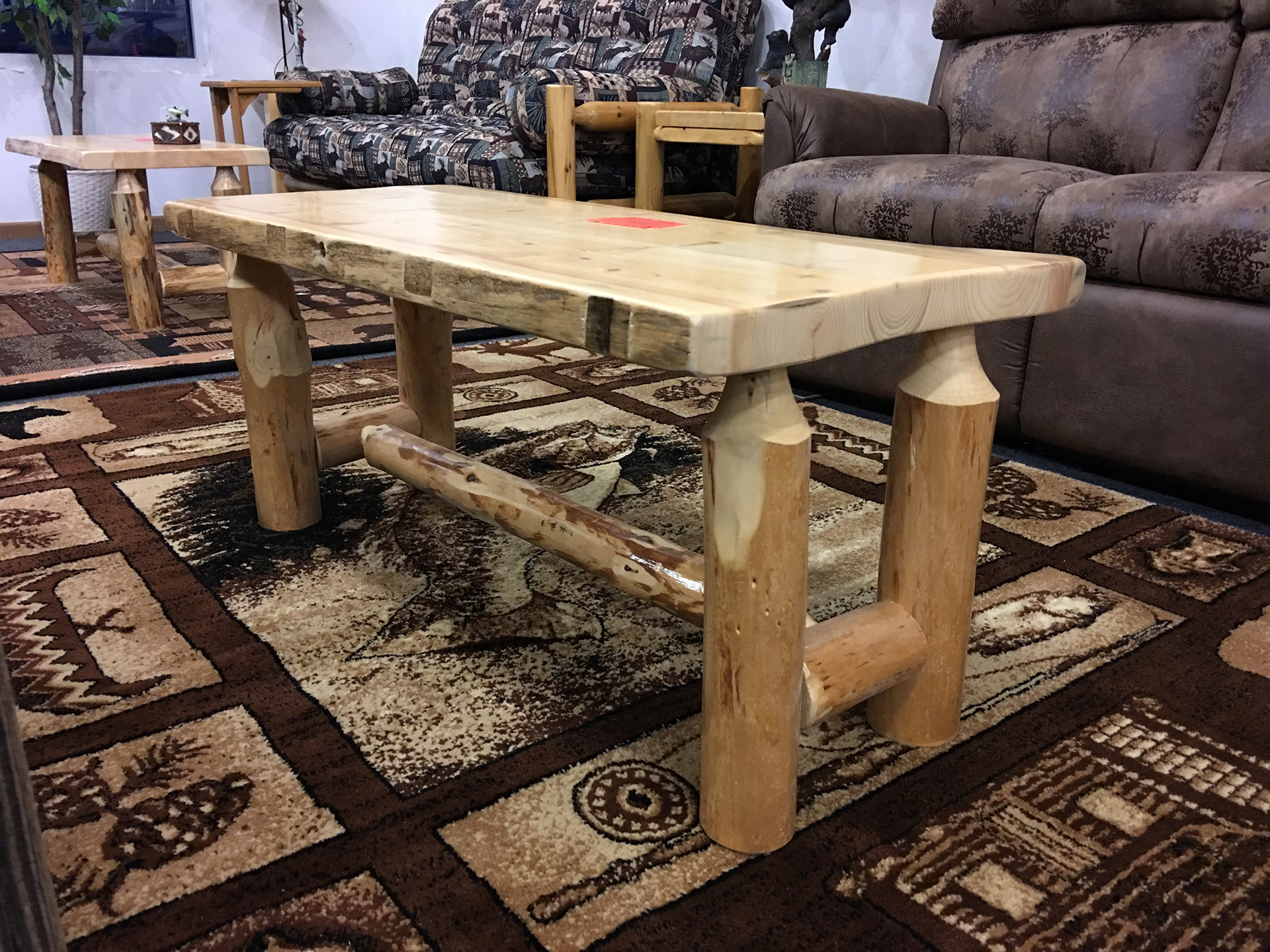 holiday-furnishings-wood-coffee-table