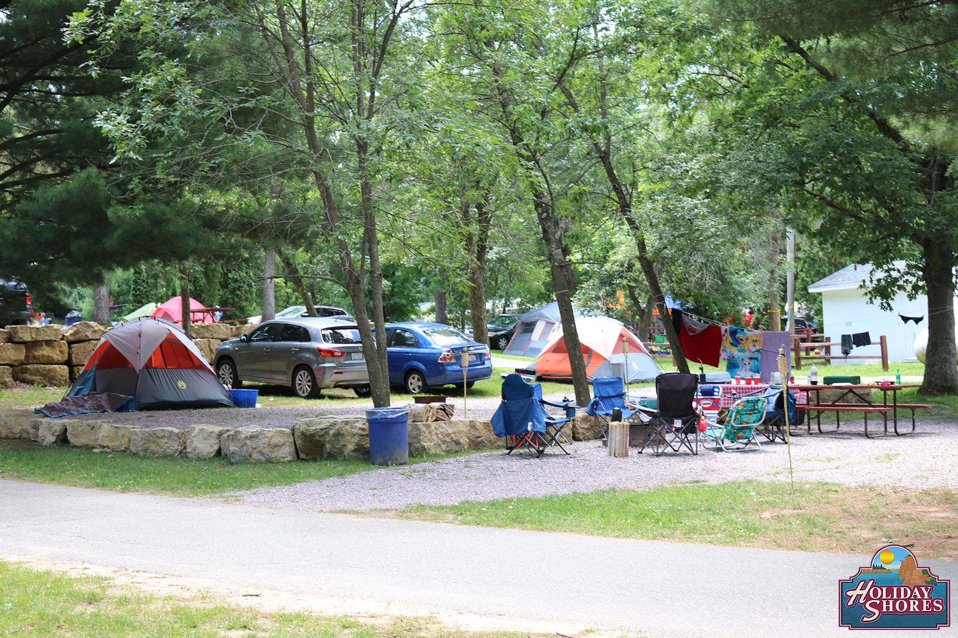 Holiday Shores Campsite 2