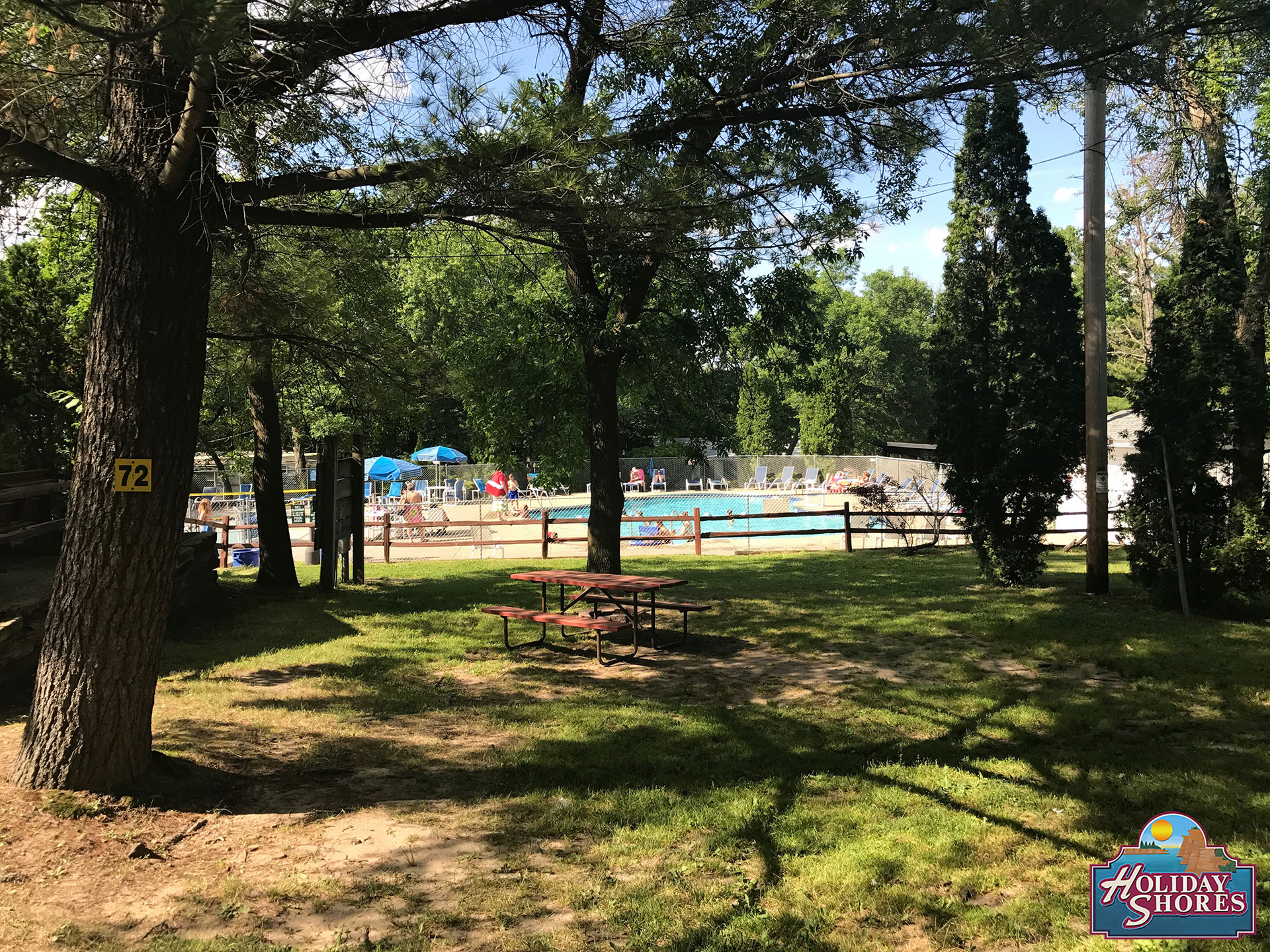 Holiday Shores Pool Sites
