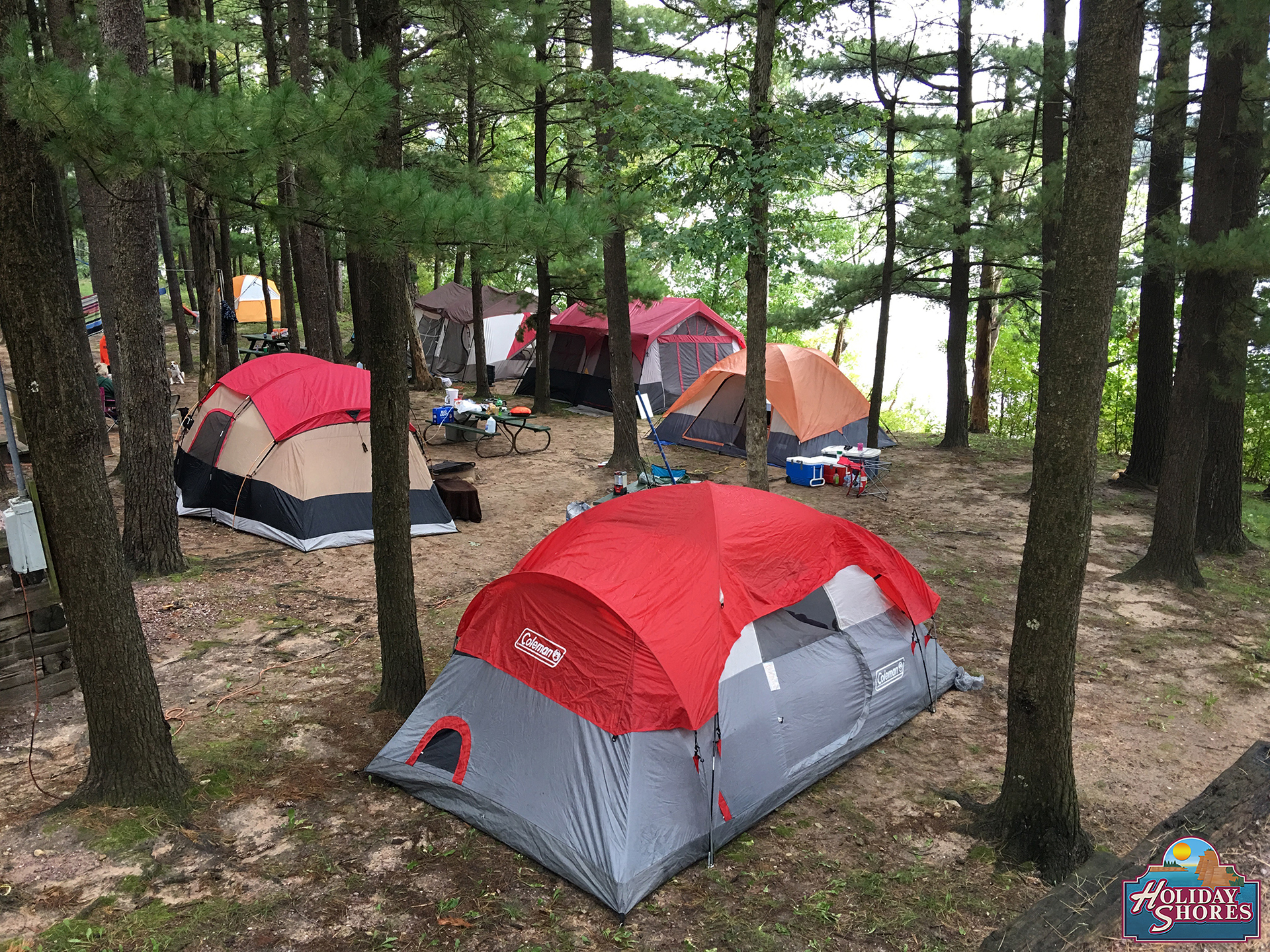Holiday Shores River Campsite