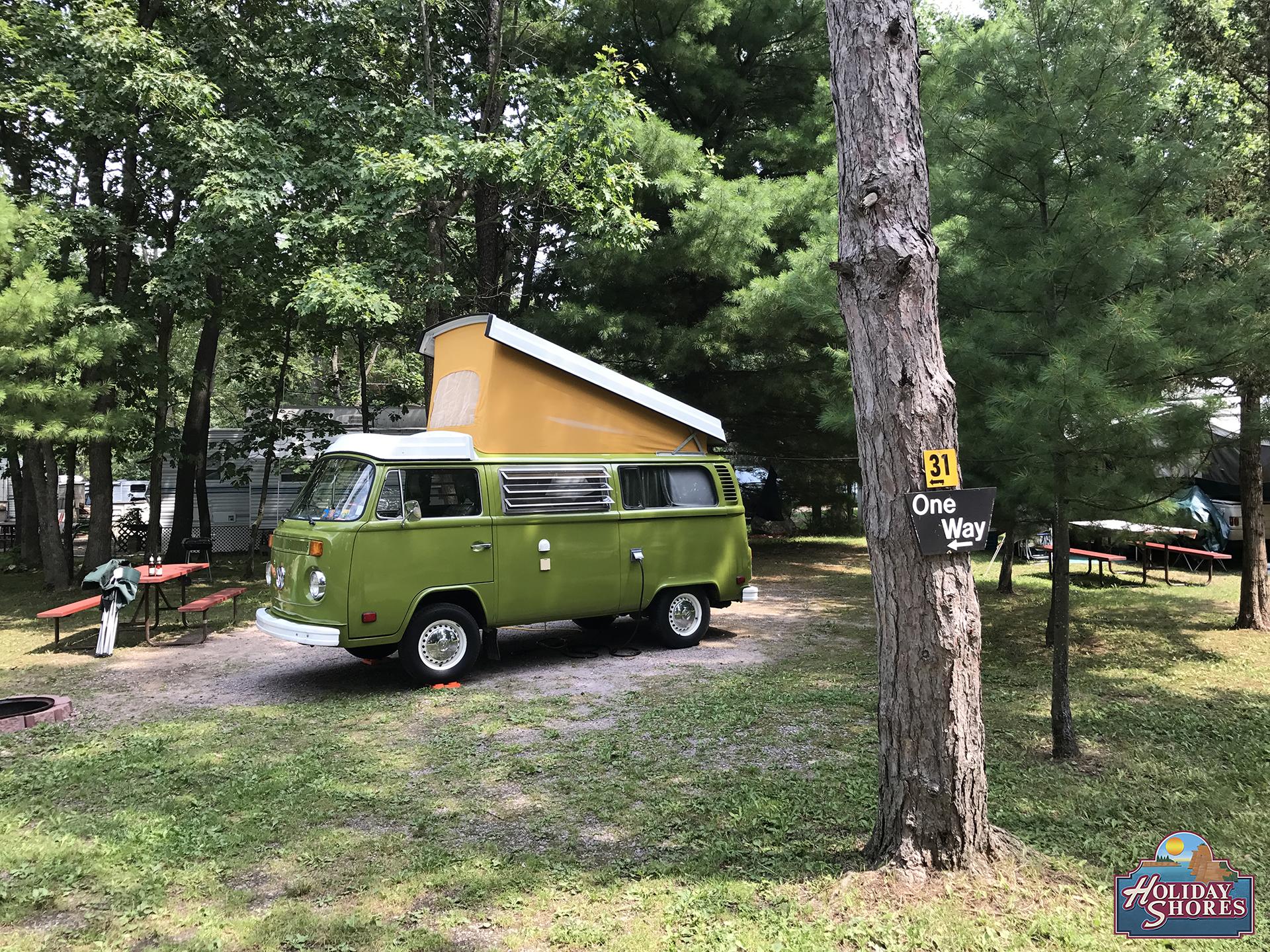 Holiday Shores Non River Campsite 3