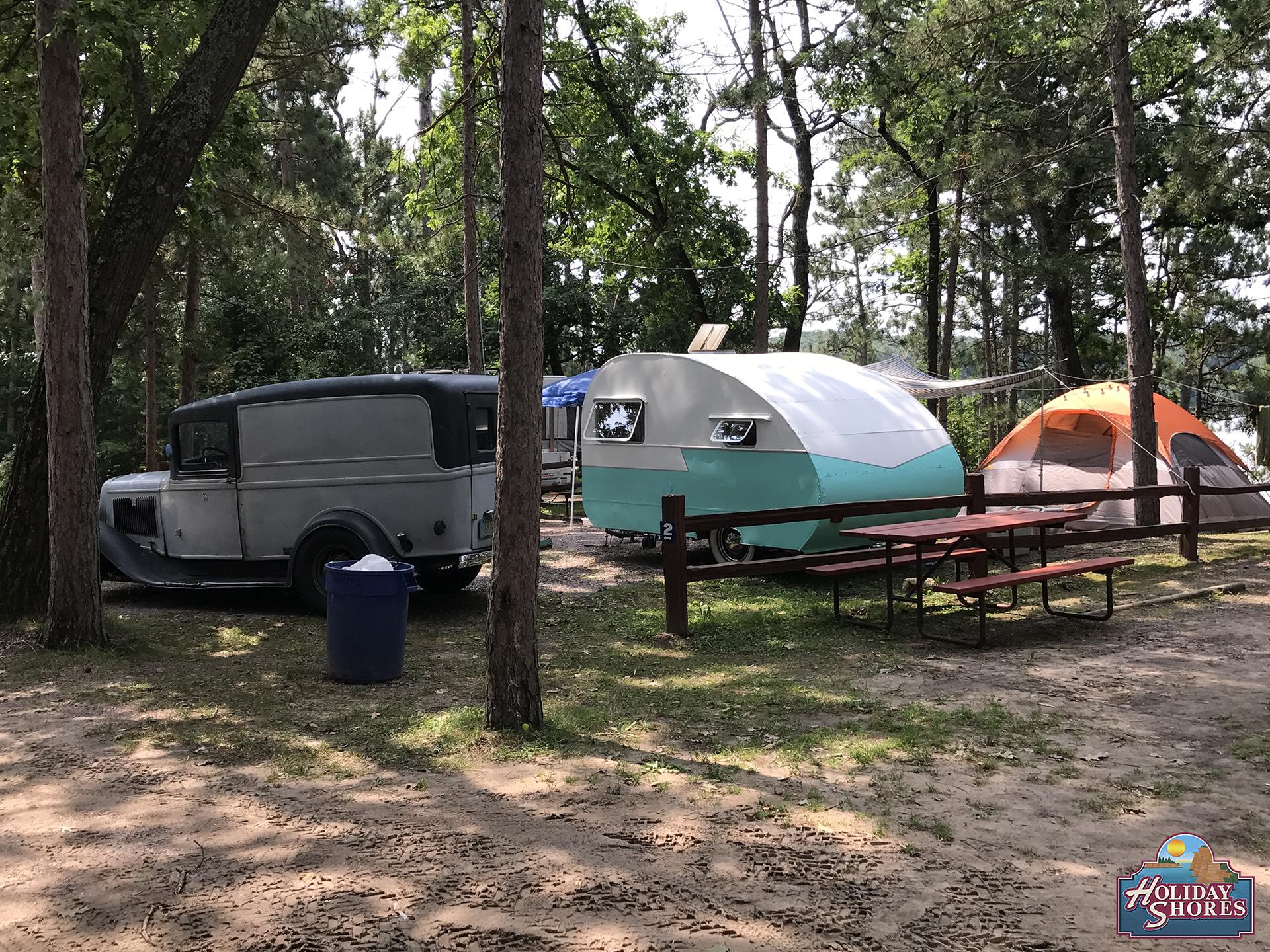 Holiday Shores Non River Campsite 4