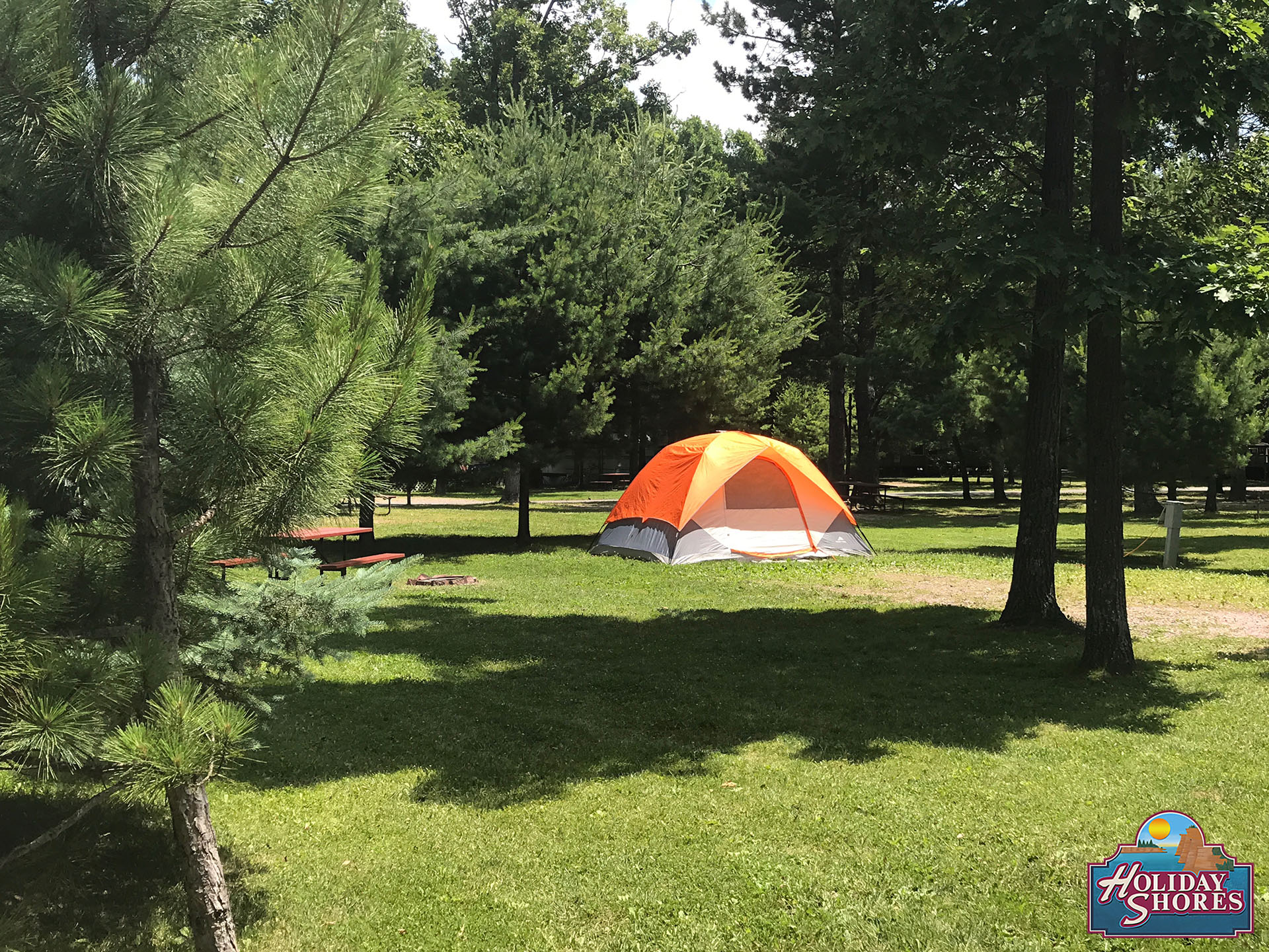 Holiday Shores Orange Tent Site