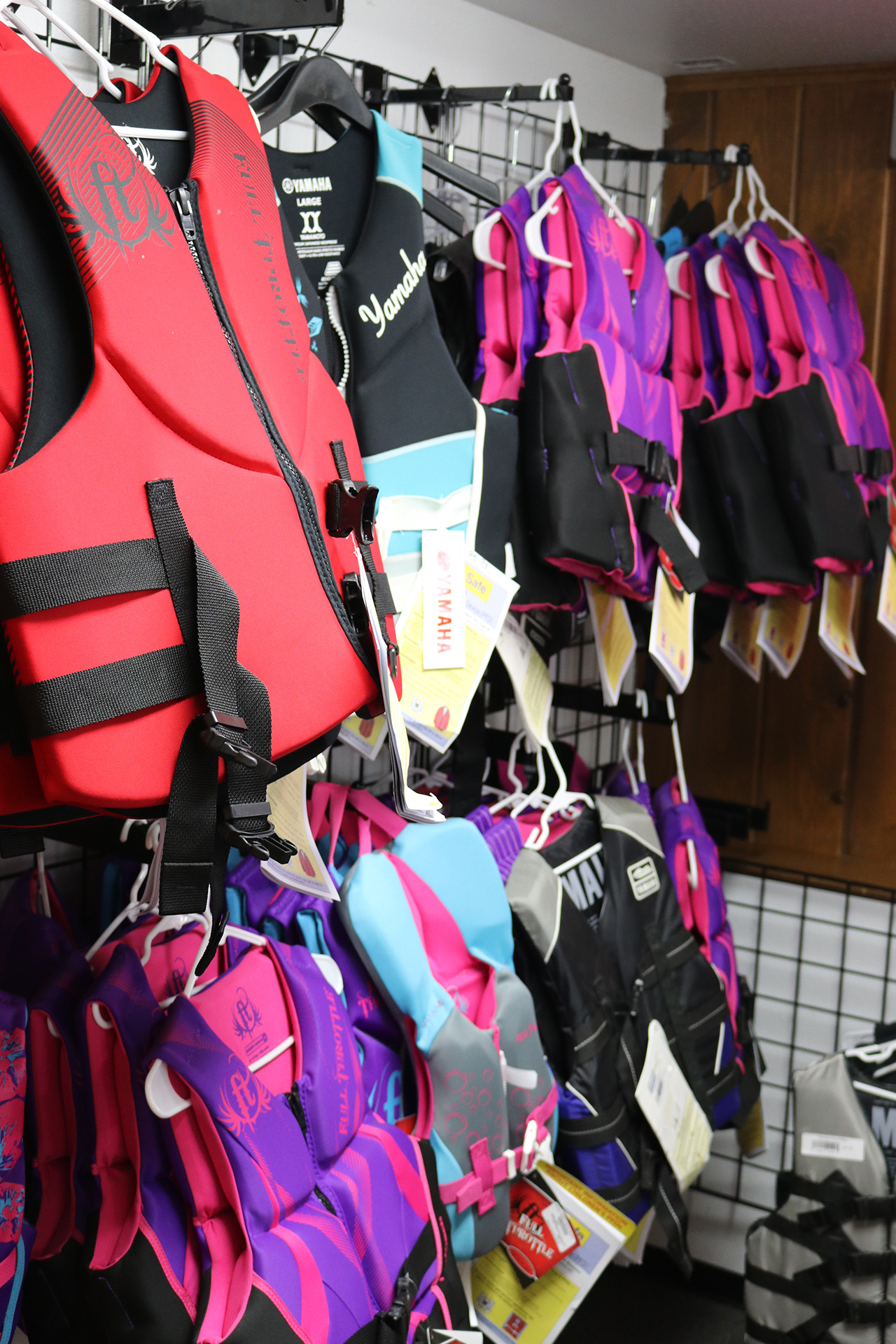 Holiday Shores WaterSports Store Life Jackets
