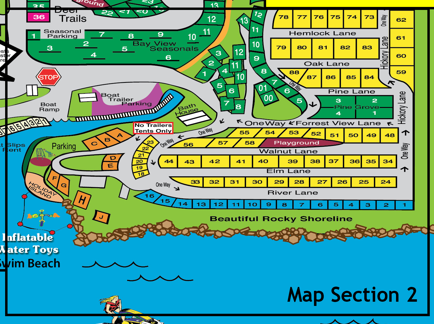 Resort Map Section 2